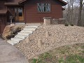 Front Entry - after<br/>(photos taken early spring)